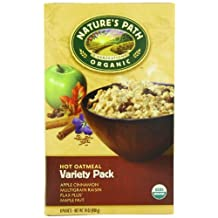 Nature's Path Organic Instant Hot Oatmeal, Variety Pack of Four Flavors, 8-Count Boxes (Pack of 6) by Nature's Path
