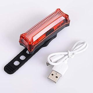 Dixinla Luce della bicicletta Caricabatteria USB led MTB bicicletta fanale posteriore Accessori