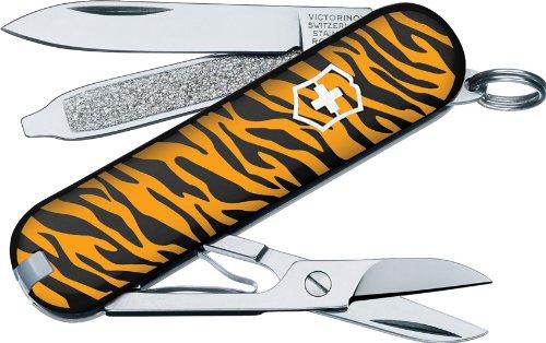 Victorinox Swiss Army Classis SD Animal Prints Multi Tool (Tiger), Outdoor Stuffs