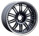 1/24 S Pièces Tire & Wheel Set No.82 professeur VF1 20 pouces (noir)