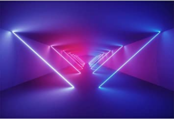 Amazon Com Yeele 6x4ft Disco Dance Party Backdrop For Photography Neon Adults Party Decoration Neon Lights Bright Ballroom Tunnel Stage Background Party Event Banner Photo Booth Shoot Studio Props Camera