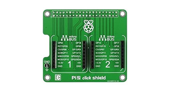 Daughter Cards and OEM Boards Pi 2 click SHIELD