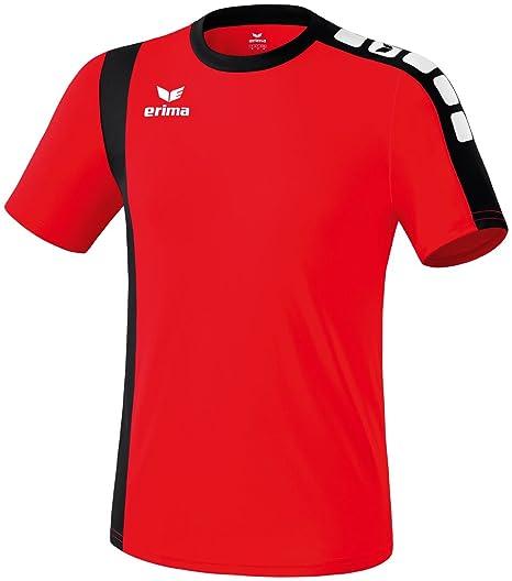 erima Trikot Zamora - Camiseta de fútbol, Color Rojo, Talla S