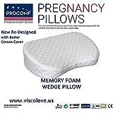 ProComf Wedge Memory Foam Pillow