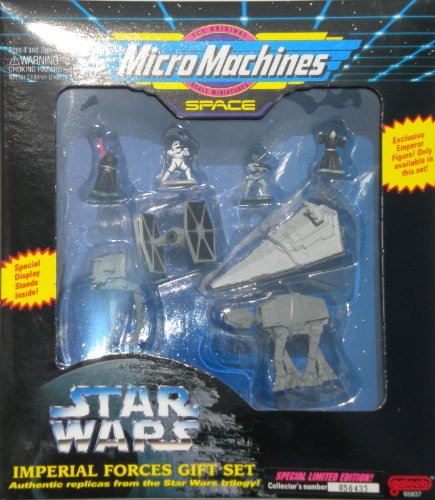 (Galoob Micro Machines Star Wars> Imperial Forces Gift Set)