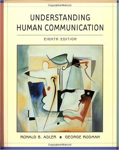 Amazon understanding human communication 9780195219104 understanding human communication 8th edition fandeluxe Choice Image