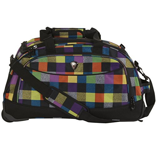 calpak-plato-bright-checkers-21-inch-carry-on-rolling-upright-duffel-bag