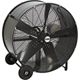 Bannon Enclosed Motor Belt Drive Drum Fan - 36in., 17,560 CFM