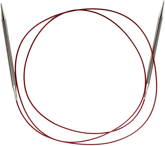 152cm Stainless Steel Knitting Needle Size US 0 ChiaoGoo Red Lace Circular 60 inch 7060-0 2mm