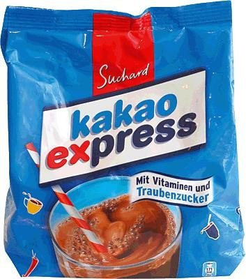 Suchard Cocoa Express Net. Wt. 17.64oz / 500g
