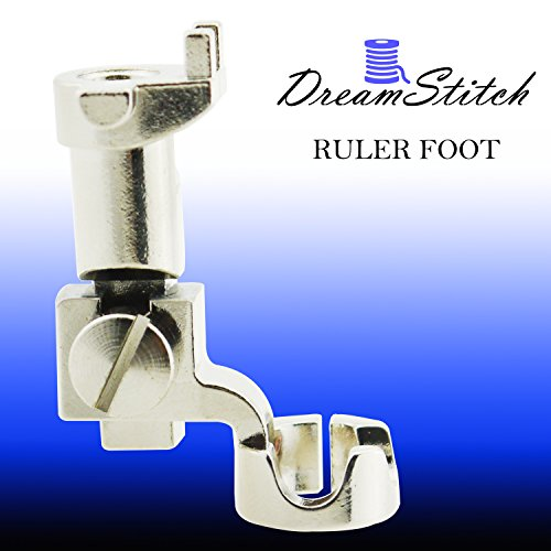 Dream Stitch -Bernina Old Style- Ruler Free Motion Darning Patchwork Presser Foot 1/4
