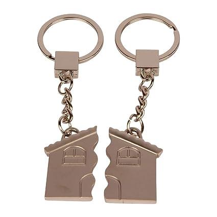 Formano 655448 Llavero con Forma de casa Ideal para Parejas ...