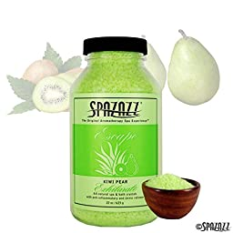 Spazazz 7369C Spa and Bath Crystals, Kiwi Pear, 22 Ounce