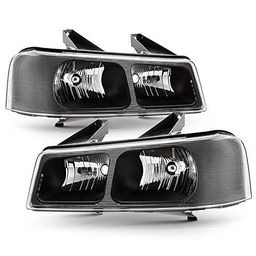 ACANII - For 2003-2017 Chevy Express GMC Savana Van Headlights OE Style Replacement 03-17 Headlamps Driver & Passenger