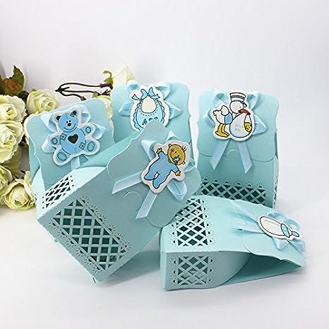 Amazon.com: worldoor 50pcs Cute Baby Shower Fiesta ...