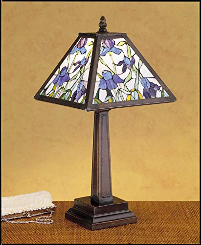 Meyda Tiffany 30886 One Light Table Lamp, 19