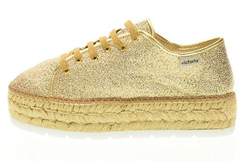 con plateau Victoria oro Sneakers basse donna 088 37 con oro in da 100 taglia qZZFTxw0R