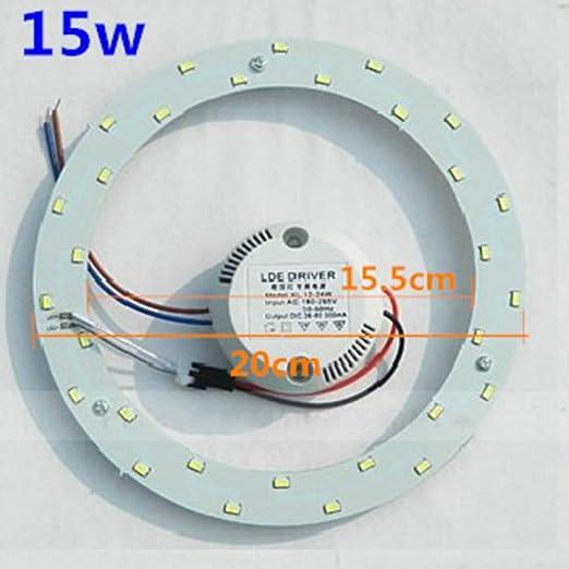 DragonPad Retrofit Circular de ahorro de energía LED lámpara de ...