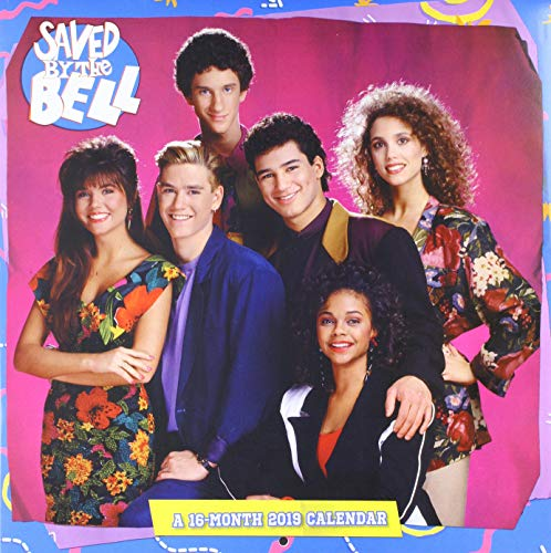 Saved By the Bell Wall Calendar (2019) (Saved By The Bell Jessie And Slater)