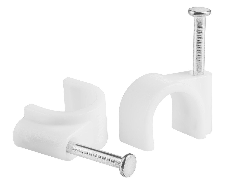 400 Pack MutecPower 6mm 7mm 8mm 100m Abrazaderas para Cables con Tornillo Incorporado en Negro y Blanco