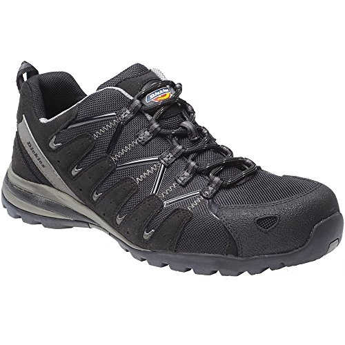 Dickies Mens Workwear Tiber Super Safety Trainer Black FC23530B Black