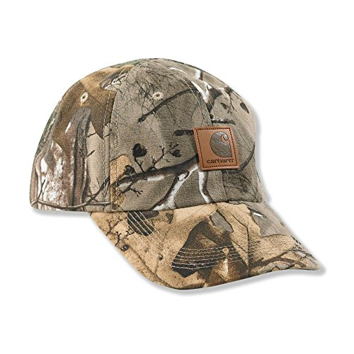 Carhartt Baby Boys' Camo Duck Hat, Realtree Xtra, Infant