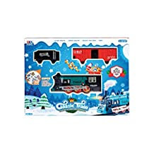 Decorative Moving Christmas Train Set With Sound! - Assorted