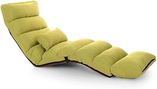 Amazon.com: Marceooselm Cushioned Folding Lazy Recliner ...