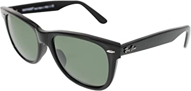 9c2fbf9963e Image Unavailable. Image not available for. Color  Ray-Ban Original  Wayfarer Sunglasses Black Green
