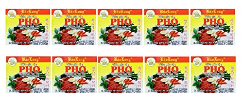 (Bao Long Pho Spice Cubes, Beef Flavored 10-Count Value Pack, 40 Cubes Total)