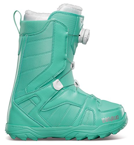 - ThirtyTwo STW Boa Women's Winter Sport Racing Snowmobile Boots - Teal / Size 5
