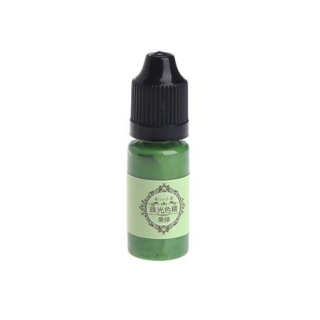 Bote de colorante líquido, de resina epoxídica, marca Lamdoo; pigmento de coloración,
