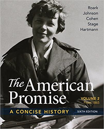 Amazon american promise a concise history volume 2 6e american promise a concise history volume 2 6e reading the american past volume 2 5e sixth edition fandeluxe Choice Image