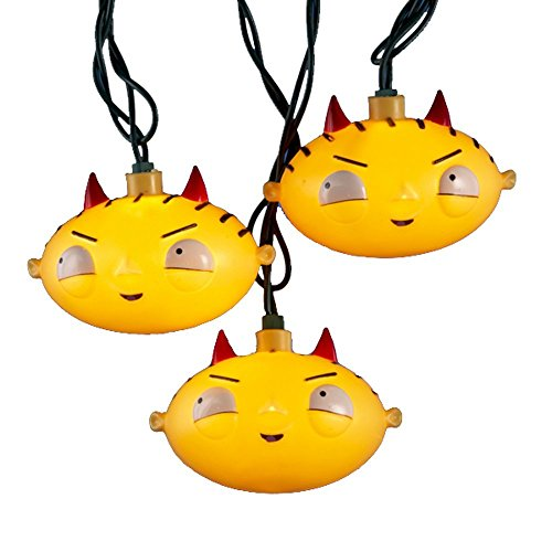 Family Guy Kurt Adler 10-Light 30-Inch Stewie Head Light Set