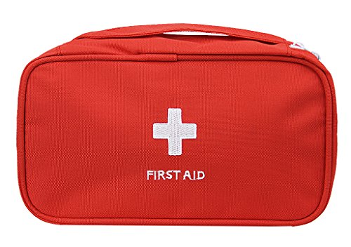 First Aid Kits, Waterproof Oxford Travel Camping Sports Medical Emergency Survival Case Organizer Outdoor Home Auto First Responder Storage Bag (First Oxford)