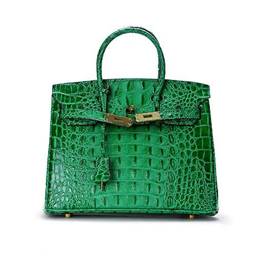 green à d'OS pour Main Cuir de Mode Crocodile Sac épaule Sacs à Gold Dames S modèle diagonales Main Seule WWAVE Classique en Sac Platinum 15qxawgnt