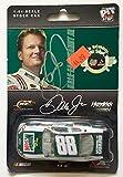 2008 Dale Earnhardt Jr Signed Retro Mountain Dew 1/64 Diecast Action Car #1 - Autographed Diecast Cars
