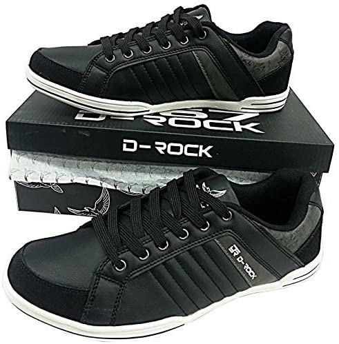 funky black trainers