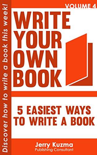 Ways to write a book