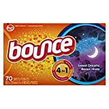 Bounce Fabric Softener Dryer Sheets, Sweet Dreams Scent, 70 Count