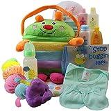 Cuddly Cutie Bug Baby Gift Basket, Neutral Boy or Girl