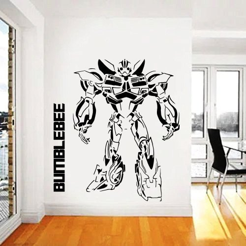 Amazon Com Transformers Wall Decal Prime Wall Sticker Bumblebee