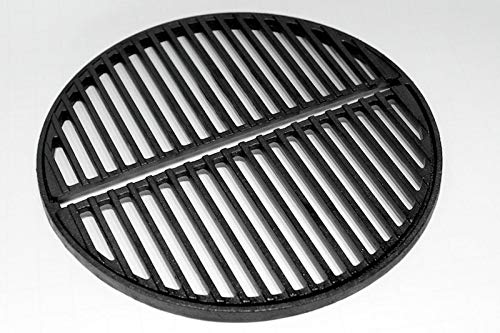 Craycort Cast Iron Grate, preseasoned, fits Smokey Joe Grills, Bodum Fyrkat and small Big Green Eggs