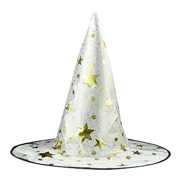 e8f302baf8a Amazon.com  YJYDADA Adult Womens Mens Witch Hat for Halloween ...