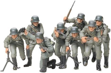 Amazon.com: Tamiya Models German Infantry Assault Tropas ...
