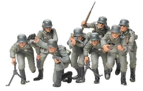 Tamiya Models German Infantry Assault Troops Model -