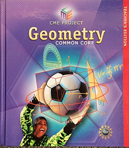CME Project Geometry Common Core Teacher's Edition