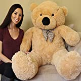 Yesbears 5Ft.Giant Teddy Bear (Sun Tan Color)