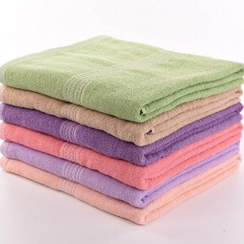 [Microfiber Absorbent Drying Bath Beach Towel Washcloth Swimwear Shower (Model T018)] (T018 Colour)