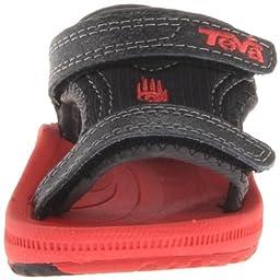 Teva Psyclone 3 T Water Shoe (Toddler),Black/Red,4 M US Toddler